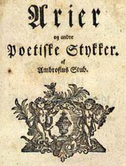 Ambrosius Stub - Arier og andre poetiske stykker