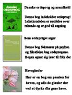 Anmeldelser af bøger om ordsprog