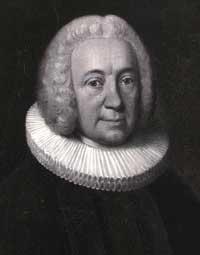 Her ses et maleri af Hans Adolph Brorson fra 1756